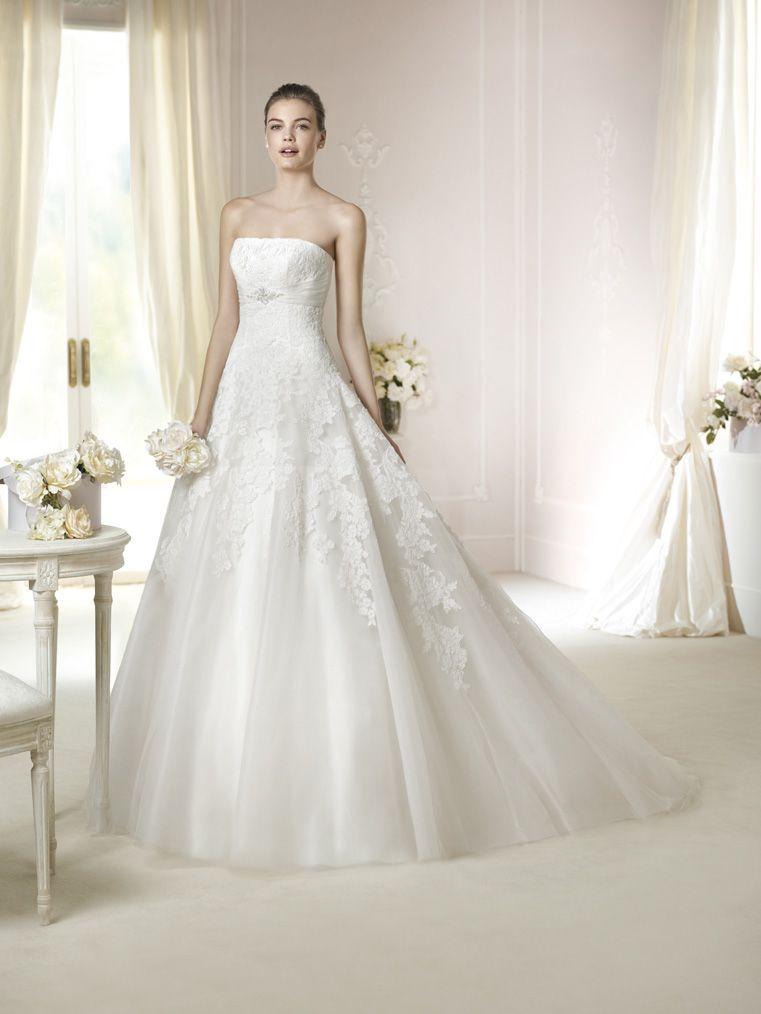 Brautkleid Jaicee aus der White One Brautmoden Kollektion 2015 ...