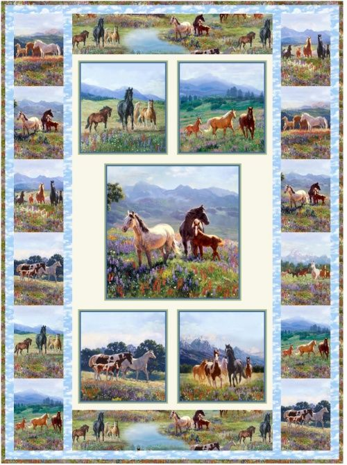 Wildflower Trails Free Quilt Pattern Quilting Pinterest