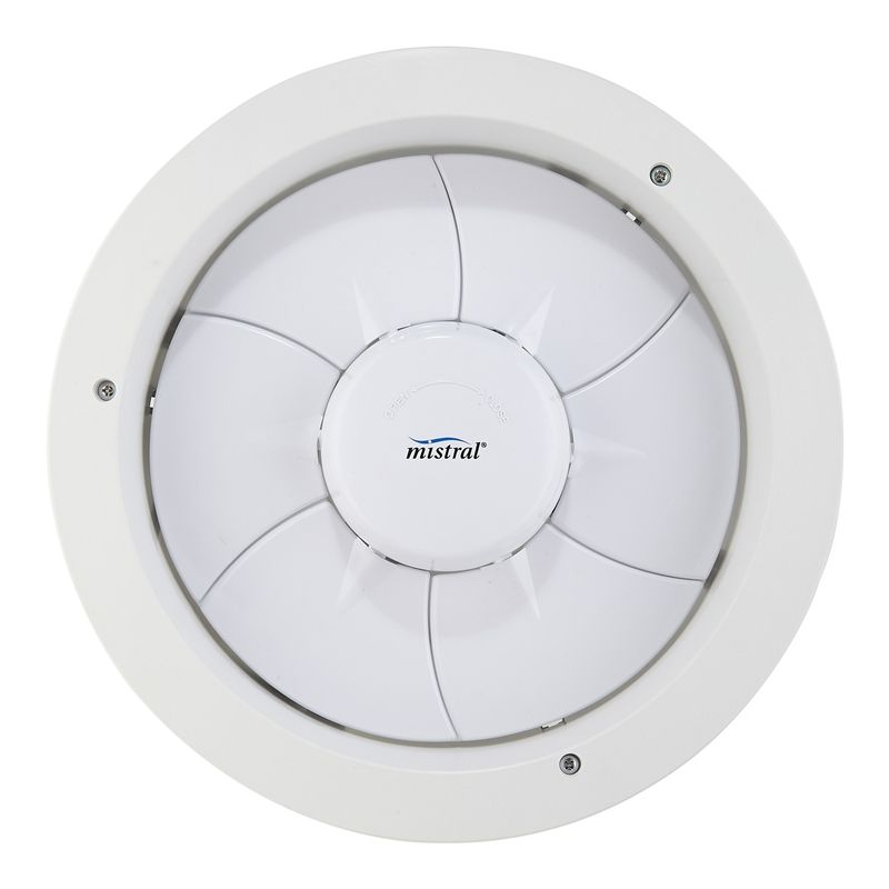 Mistral 250mm Expressaire White Exhaust Fan Bunnings Exhaust