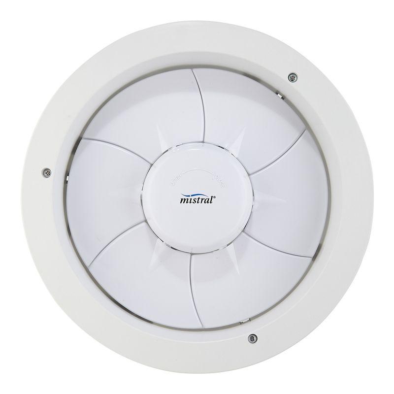 Mistral 250mm Expressaire White Exhaust Fan Bunnings Bathrooms Pinterest