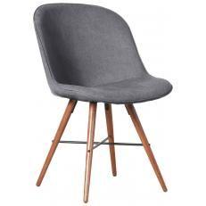 Drehstuhl esszimmer holzfuss  Stuhlset Clam Grau Holzfuß Dunkel (2er Set) | Stühle | Pinterest ...