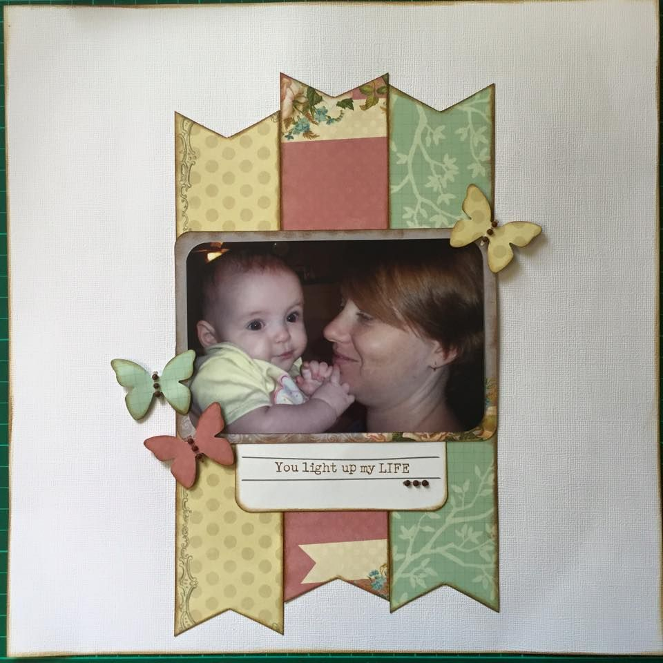 Kaszazz Card Making Ideas Part - 38: Great Example Of Using Kaszazz Moment By Moment Cards For A Simple Page.  Order Yours