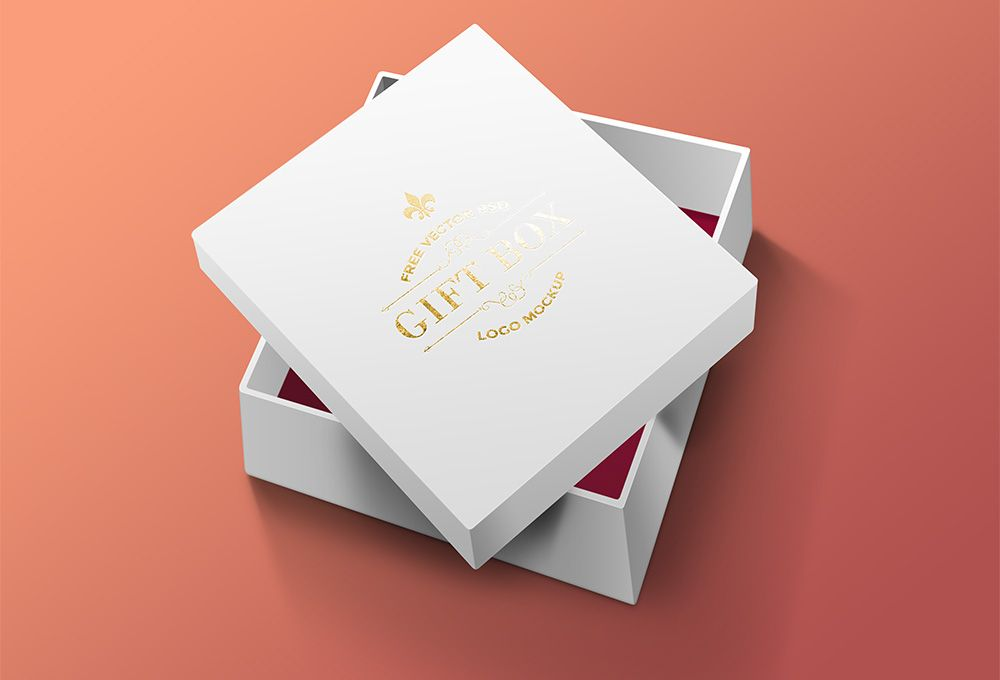Download Free Gift Box Psd Graphicsfuel Box Mockup Psd Template Free Packaging Mockup