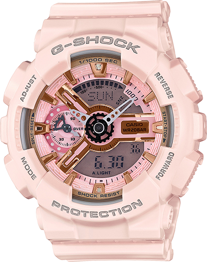 6caeb10131c GMAS110MP4A1 Peach color Gshock Casio G Shock