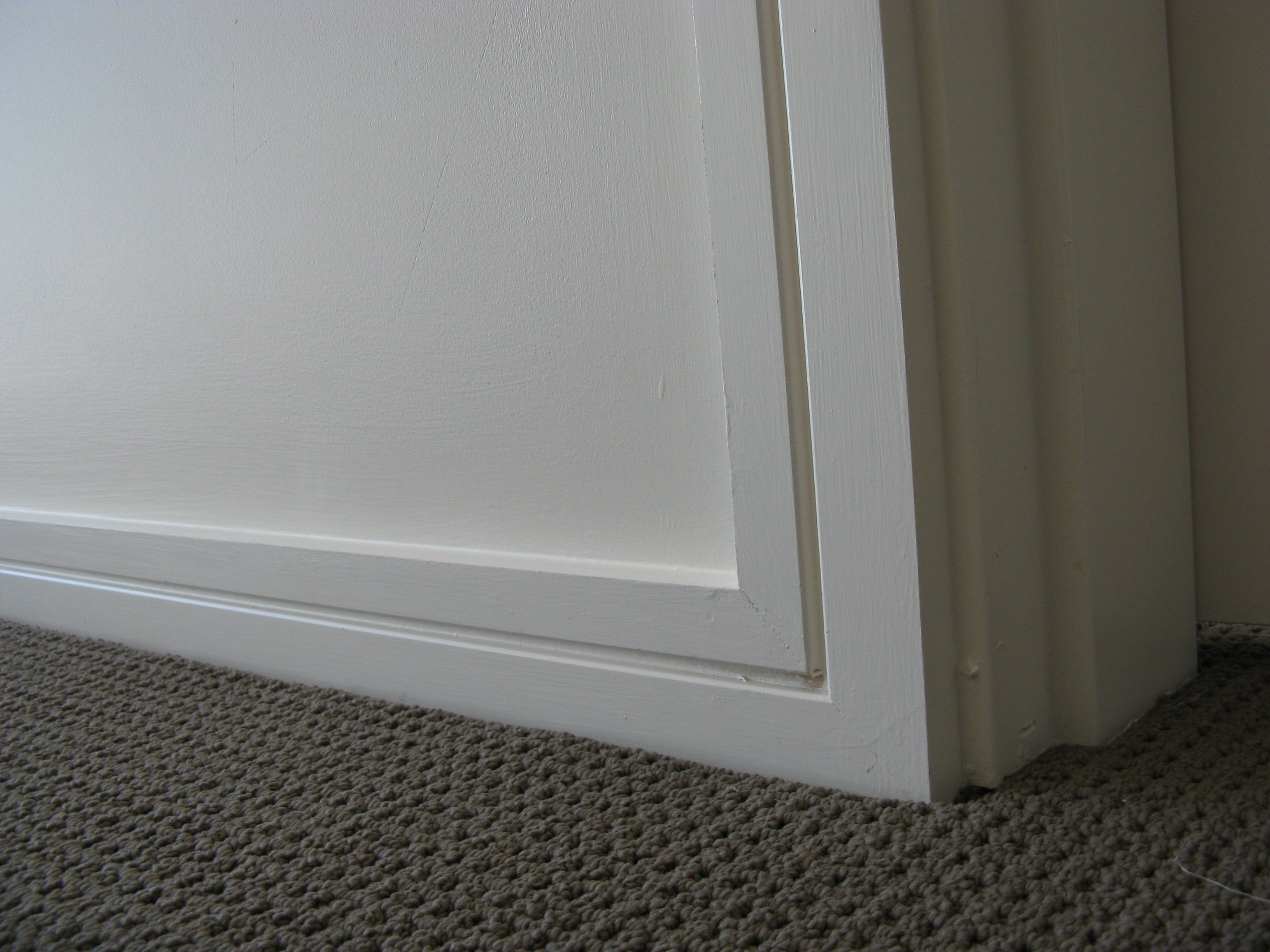 Modern Contemporary House Using Intrim Group Sk384 Skirtings & Architraves