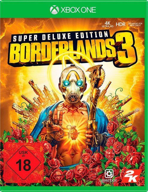 Borderlands 3 Super Deluxe Edition Xbox One In 2020 Xbox One Controller Spiele Und Playstation