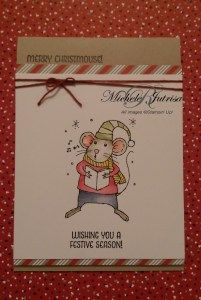 Merry Mice; Stampin' Up!