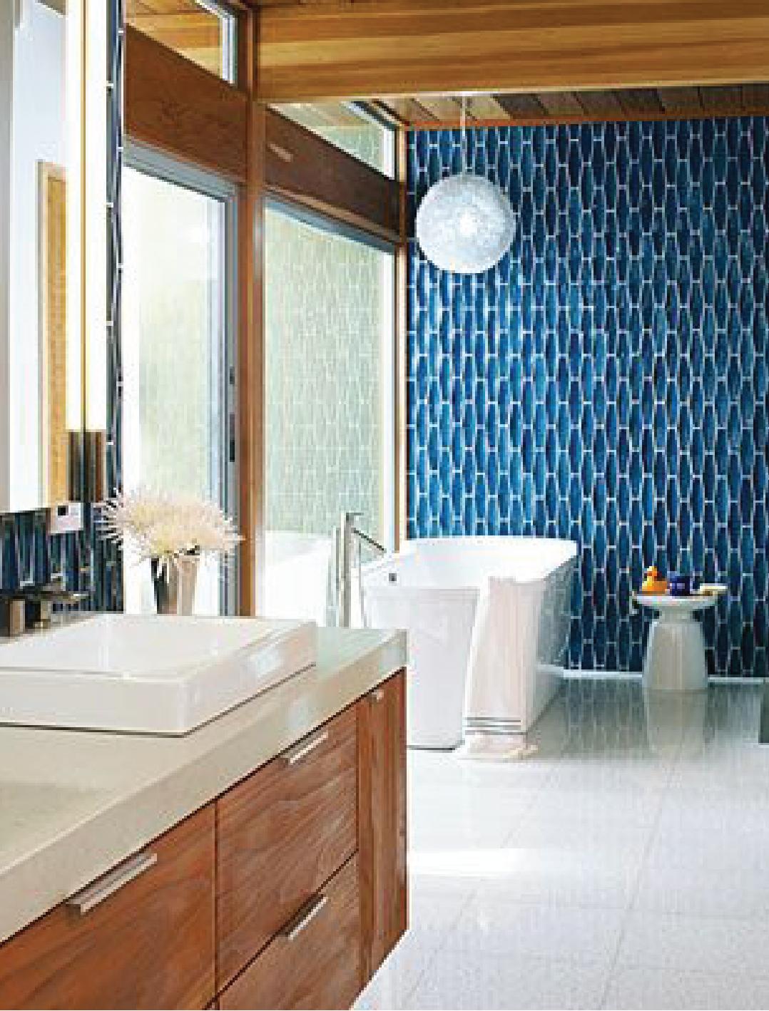 Mid Century Modern Bathroom Sample Dipt Minimalist Bathroom