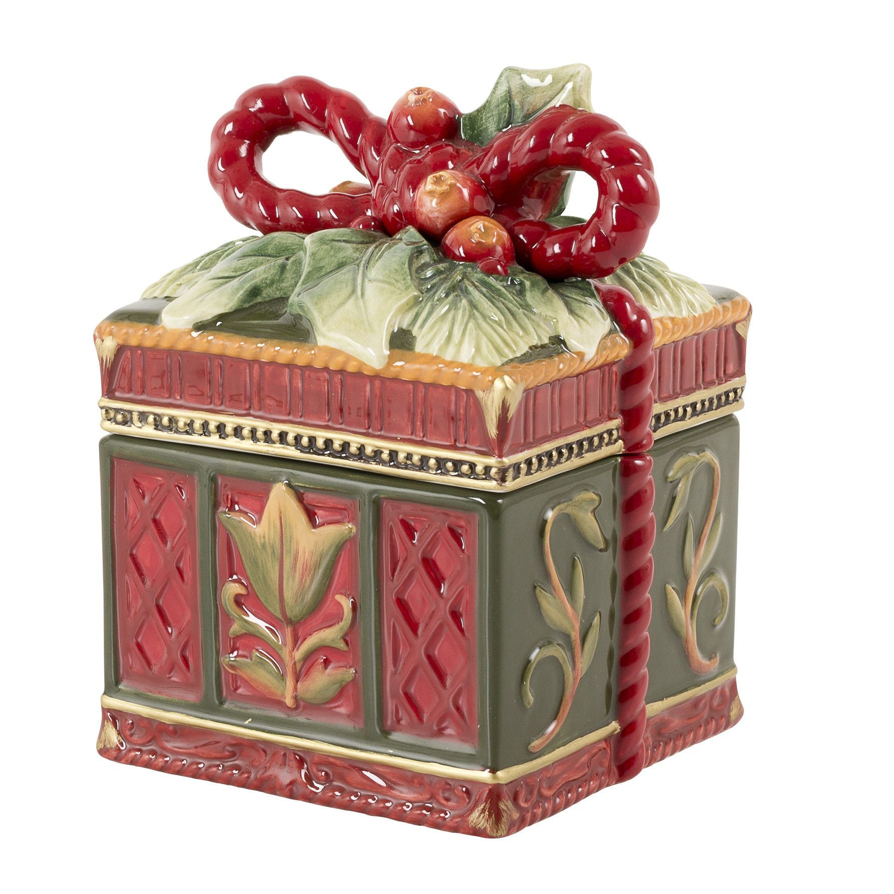 Night Before Christmas Lidded Box