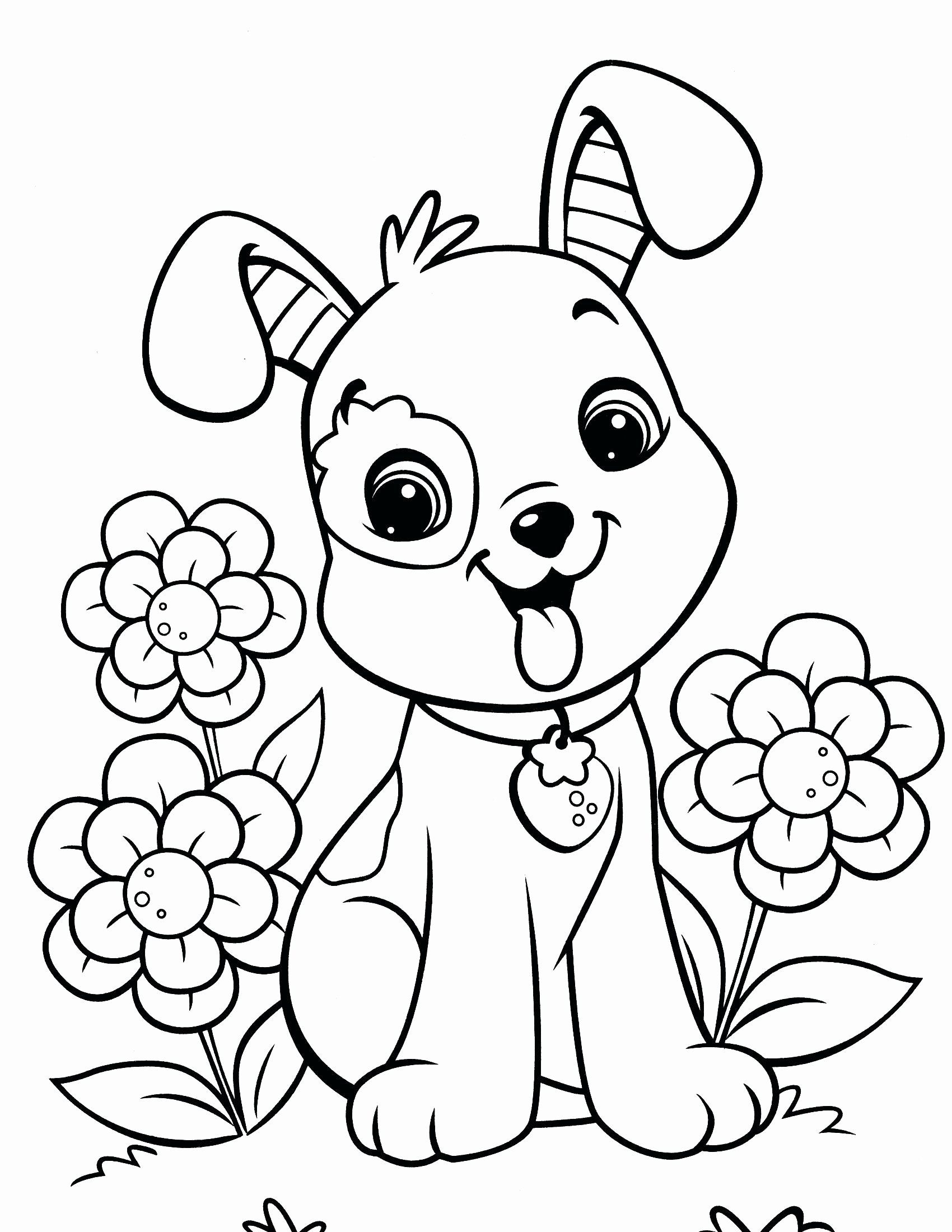 Free Coloring Pictures Com New Coloring Pages Coloring Book Printable For Adults Easy Dog Puppy Coloring Pages Valentine Coloring Pages Cool Coloring Pages