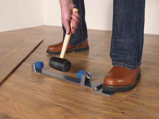 The Final Step Finishing The Floor Quick Flooring Tools Laminate Plank Flooring Wood Laminate