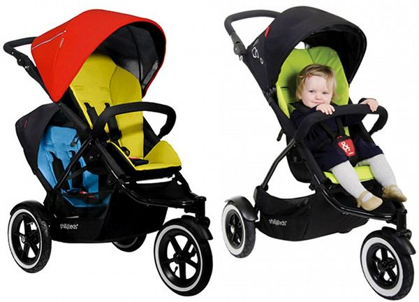 Phil and Ted's explorer looks like an awesome dual jogging stroller. I've been looking for one that's not a side by side