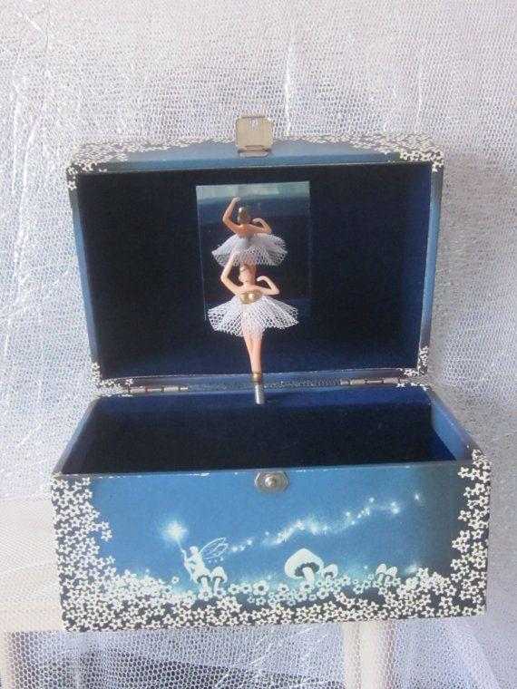 Vintage Childu0027s Musical Jewellery Box. Ballet Theme ~ Plays Swan Lake. By  Design Philipp