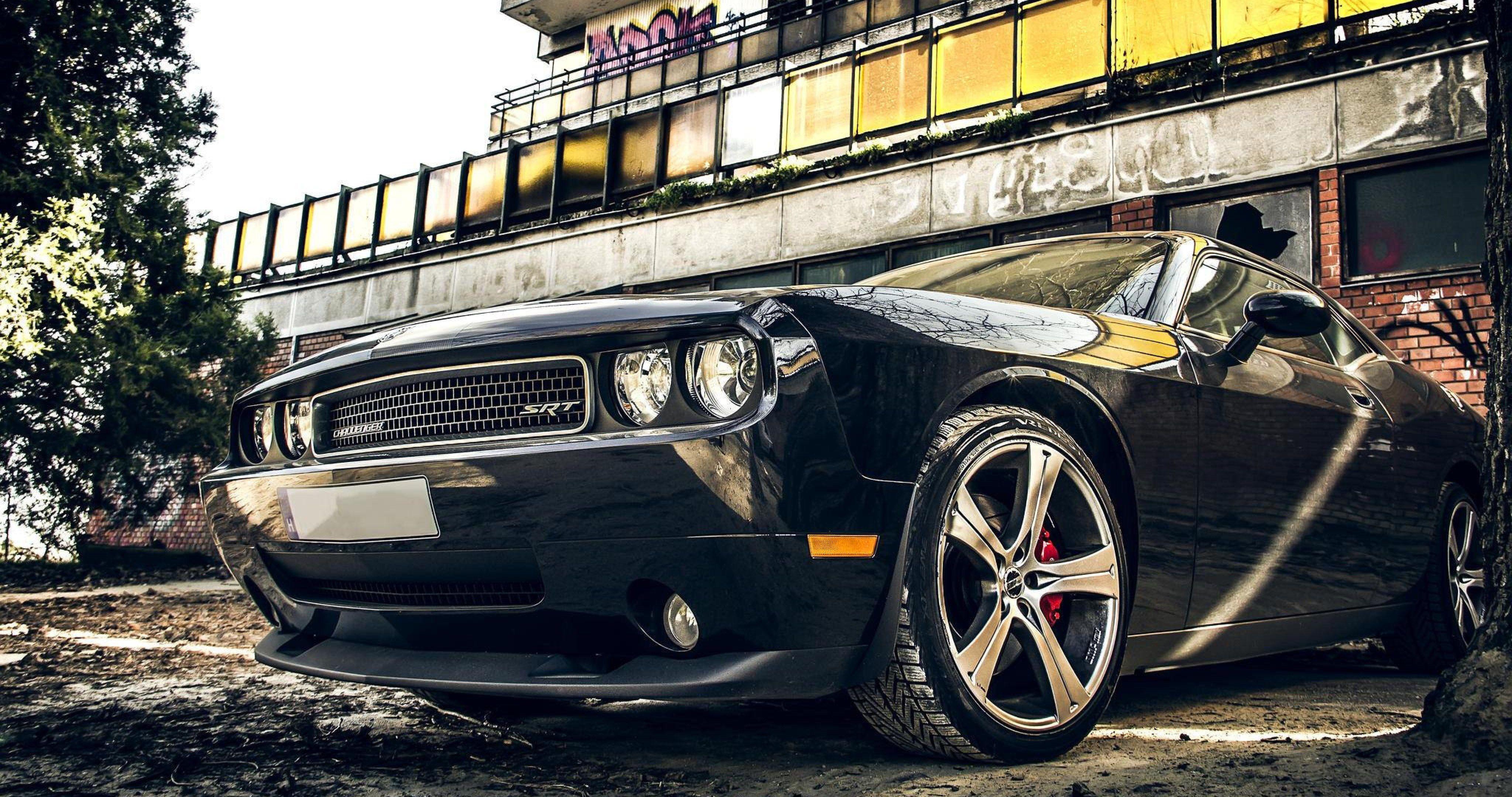 Imagenes De Carros Hd Wallpaper: Dodge Challenger Car 4k Ultra Hd Wallpaper