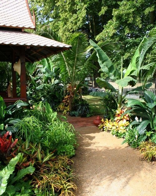 Nice Thai Garden Design Tropical Landscaping Garden Design
