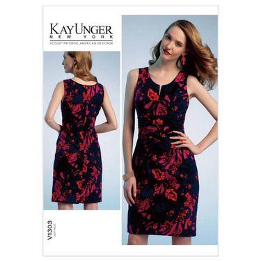 Vogue V1303 Misses\' Dress   Spotlight Australia   Spotlight ...