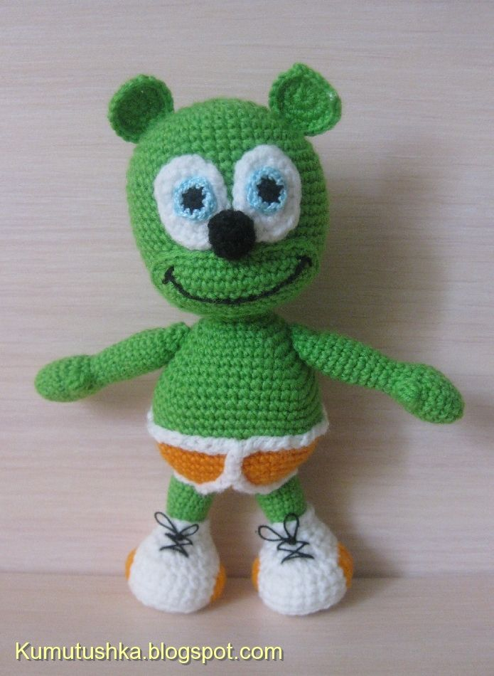 Amigurumi Bear with Briefs and Shoes - free crochet pattern and ...