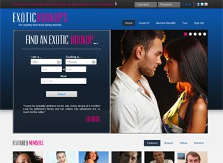 Sure - this dating website design example serves a bit of an edgy ...
