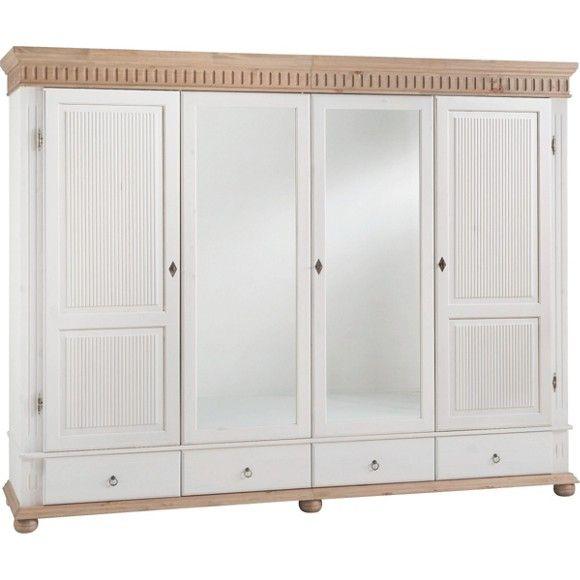 Kleiderschrank In Weiss Bring Den Landhausstil Ins Schlafzimmer