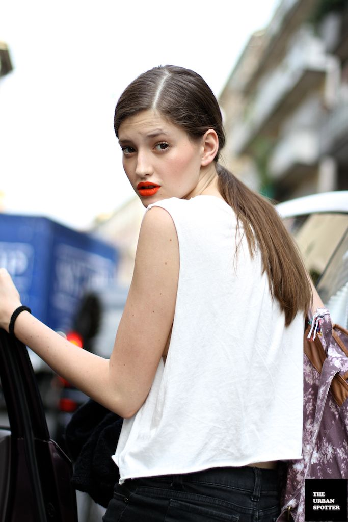 On the Street……..All the Pretty Models