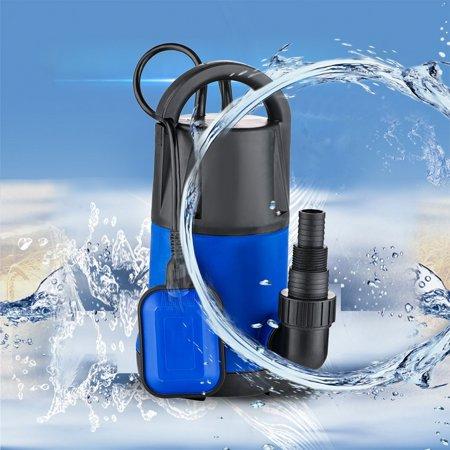 1HP 3432GPH 750W Submersible Dirty Clean Water Pump Swim Pool Pond Flood Drain