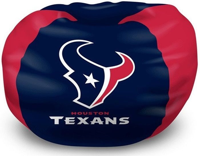 Start Tab Description This Houston Texans NFL Bean Bag Chair Is The Perfect Addition To Every Football Fans Bedroom Living Room Or Den
