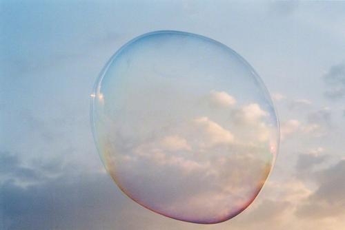 Bubble portrait (Clouds), 2004 Julianne Schwartz