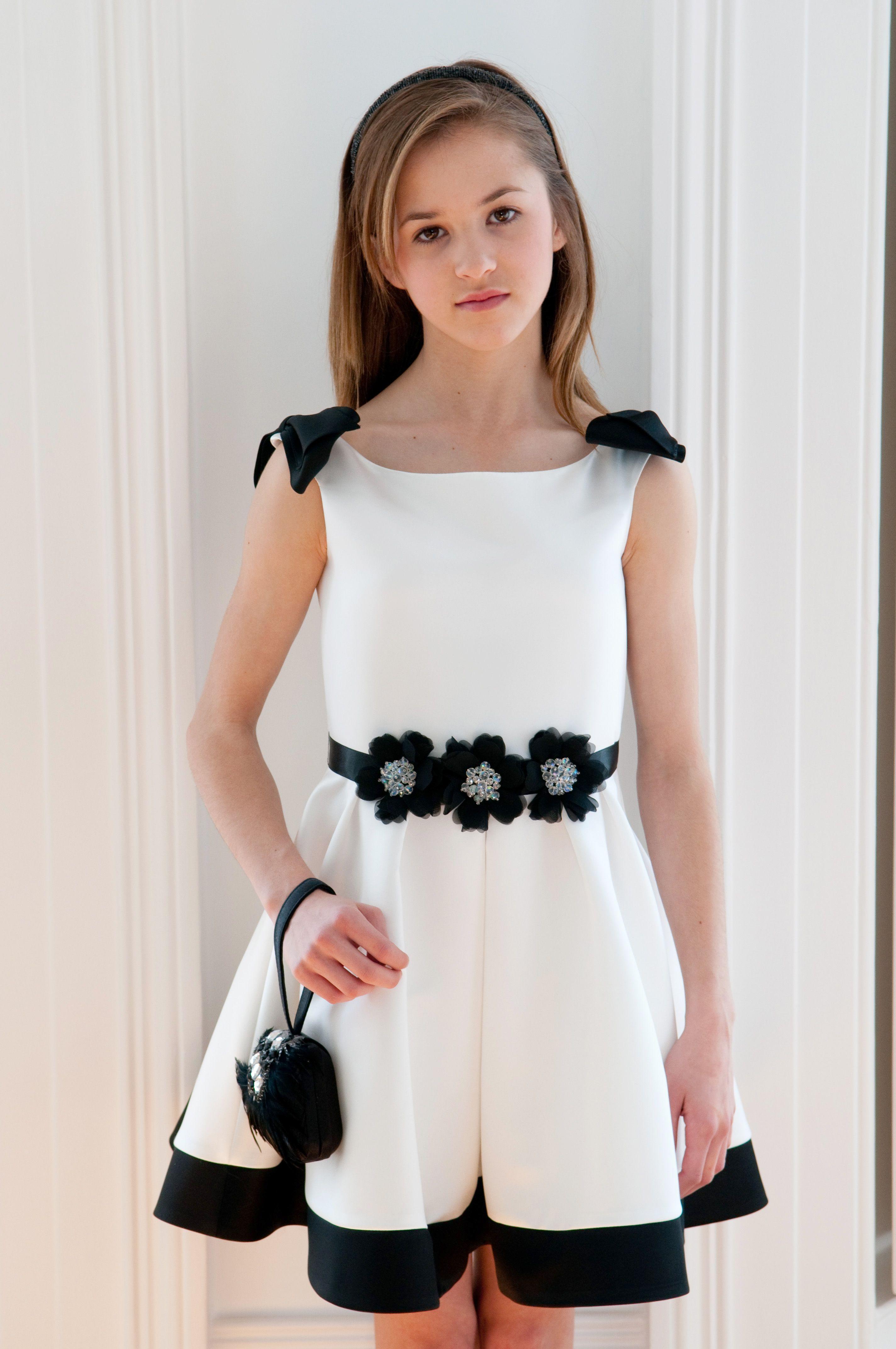 Childrens Designer Dress Bridesmaid Dress Flower Girl