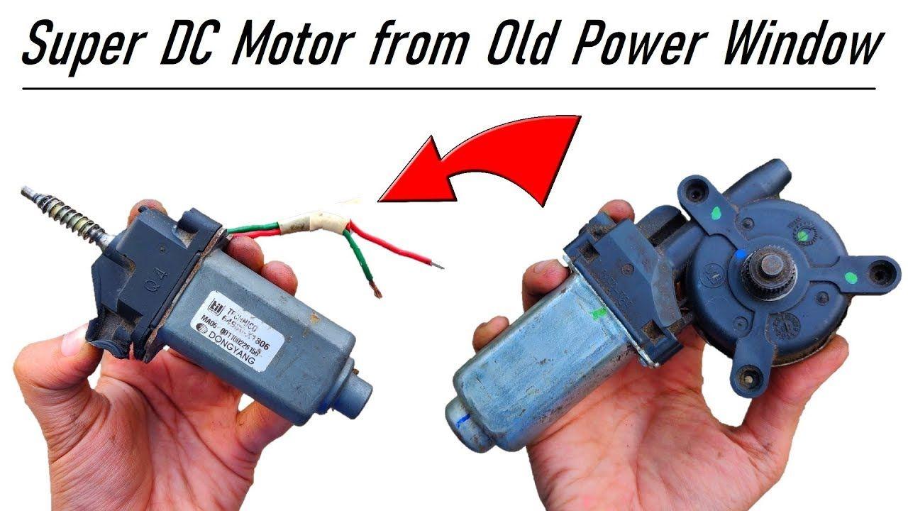 Do Not Throw Away your Car Power Window Motor - 12