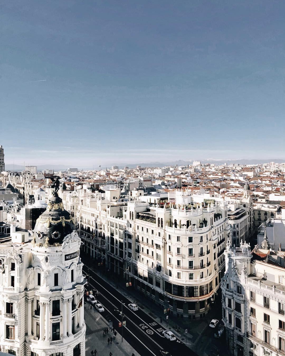 De Madrid Al Cielo Estas Hermosas Vistas De La Ciudad