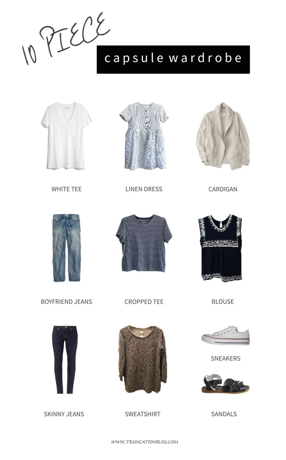 Karin Rambo Of Truncationblog Com Shares Her Spring 10x10 Style Challenge Wrap Up Minimalist Wardrobe Capsule Capsule Wardrobe Mom Capsule Wardrobe