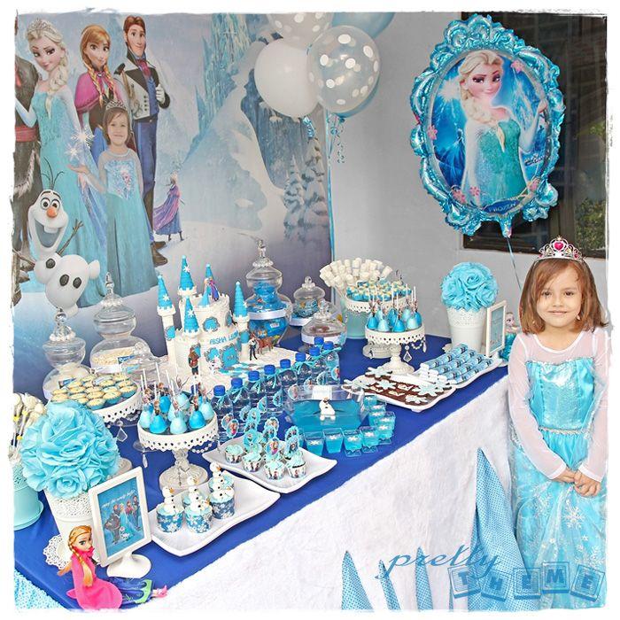 Pretty Theme Event Planner Candy Buffet Portfolio Frozen Birthday Theme Frozen Party Decorations Frozen Themed Birthday Party