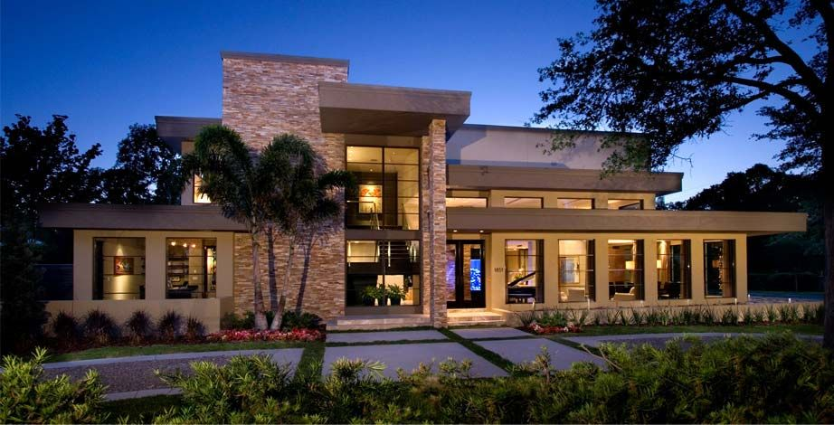 Architecture · modern florida home design