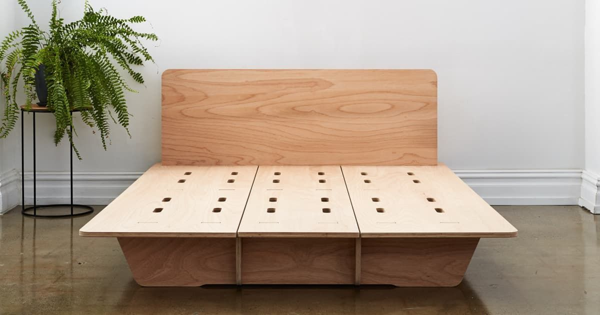 Get The Perfect Night S Sleep 120 Day Return Guarantee 4 Hour Shipping In Sydney Melbourne Brisbane Perth Adel Timber Beds Bed Base Platform Bed Designs