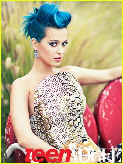 Katy Perry Cool Blue Hair Hair Color Crazy Hair Color Crazy Hair