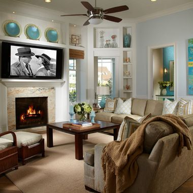 tropical decor living rooms 133 TV Tropical Living Room Design