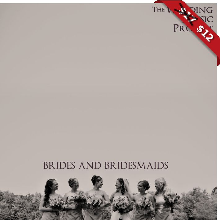 Wedding Processional Songs For Brides Bridesmaids Cover