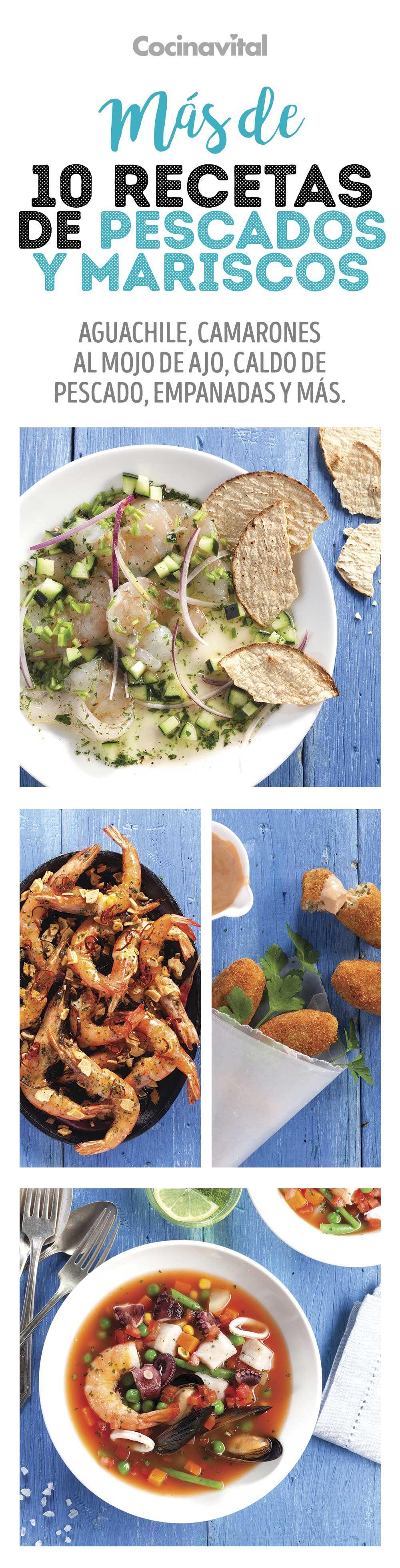 Más de 10 recetas de pescados y mariscos para la temporada – Çorba Tarifleri