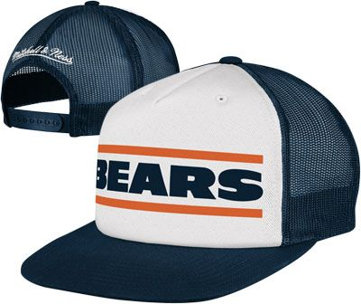 It s MINE!! I m ordering it!!  ) Chicago Bears Mitchell   Ness Throwback  Meshback Snapback Adjustable Hat e136be97dc7f