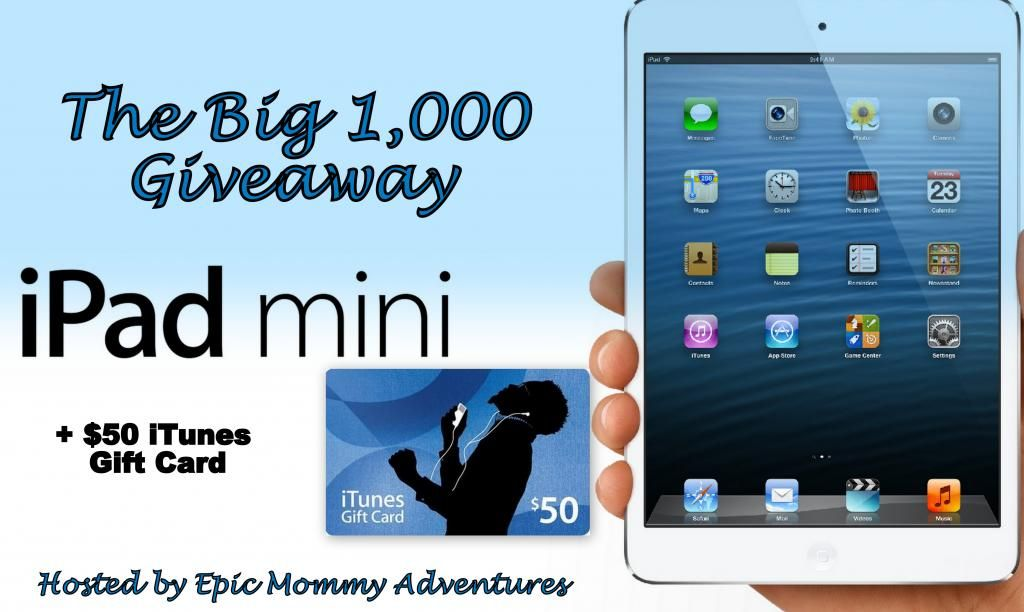 One Epic Mommy Giveaway! | GIVEAWAYS! | Itunes gift cards