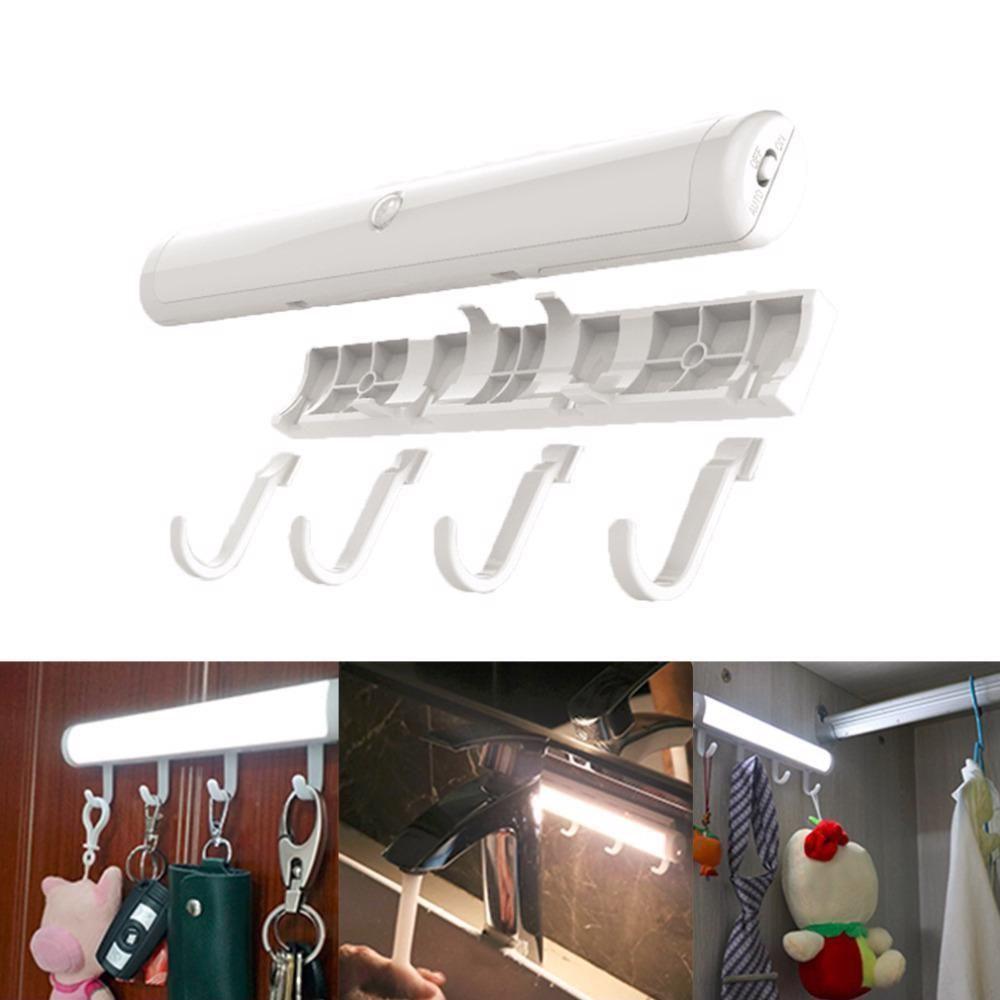 Motion Sensor Night Lamp Wardrobe Closet Light With