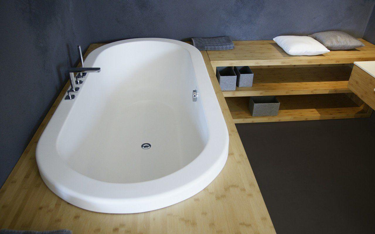 Aquatica Carol Wht Drop In Velvex Bathtub Fine Matte Stone
