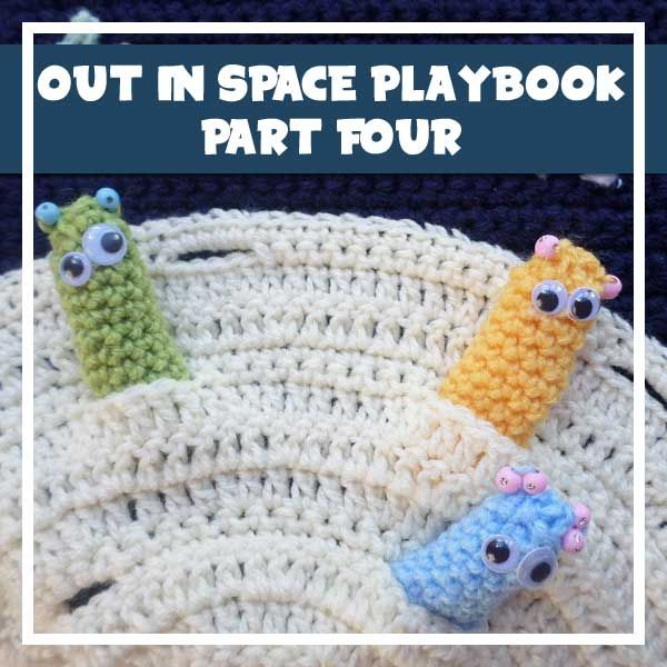 MY OUT IN SPACE CROCHET PLAYBOOK, PART 4   Crochet afghans: Applique ...