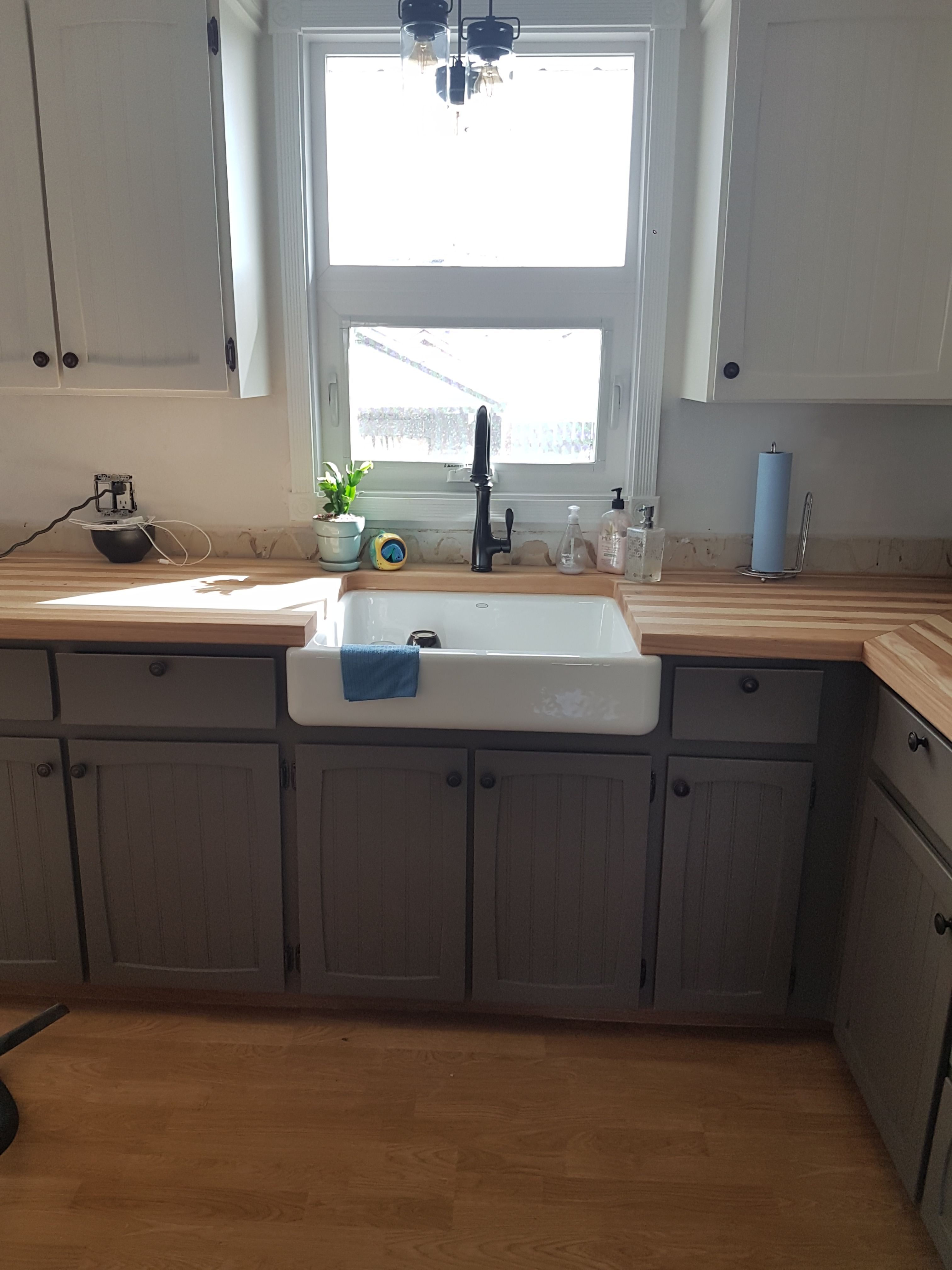 Next Generation Wood Countertop Certified Food Safe Totally Waterproof Maintenance Free