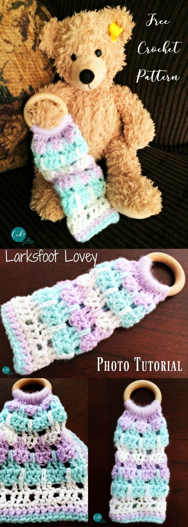 Larksfoot Crochet Lovey Photo Tutorial