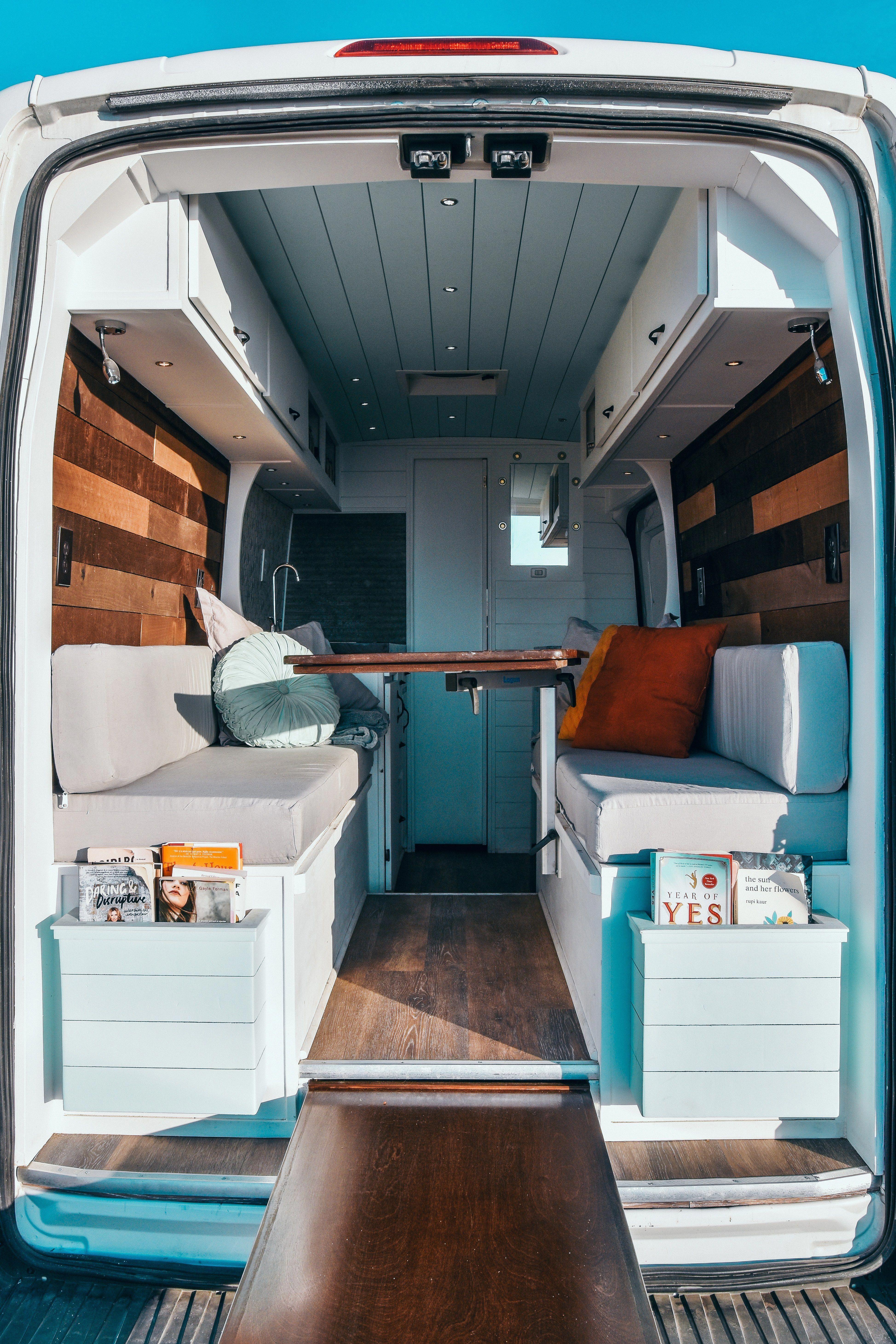 Build Your Van Divine On The Road Van Conversion Interior Van