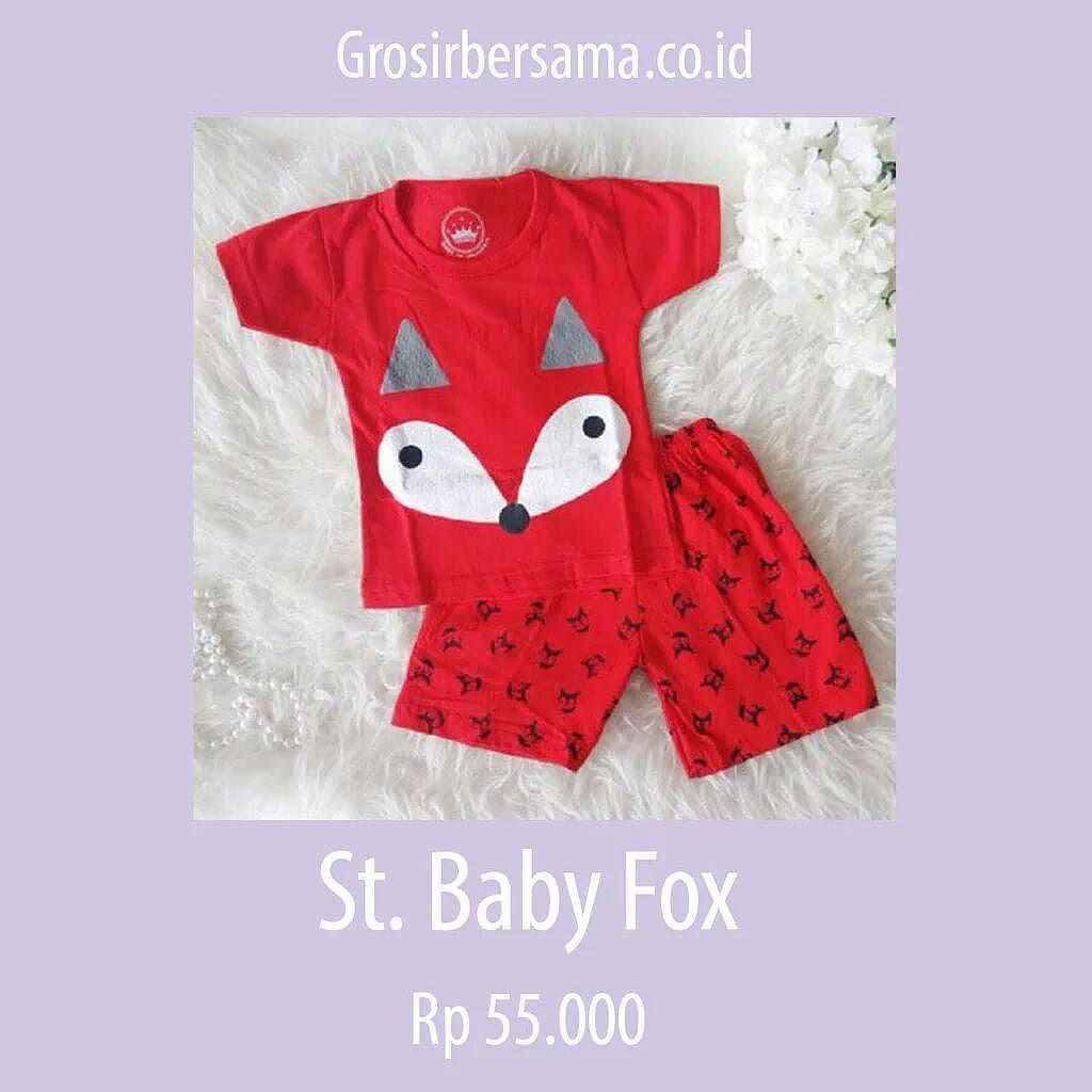St. Baby Fox  Baju imut dengan desain ala dokter. Terbuat dari cotton combed. Ukuran all size (6-18 bln). Minimal ordernya 3pcs yaa __ Ayo beli jual lagi! Cek produk lainnya di Grosirbersama.co.id __ #grosirbajuanak #grosirbajuanakmurah #grosironline  #grober #grosirbersama  #startup  #startupindonesia  #ecommerce  #ecommerceindonesia  #onlineshopping  #cottoncombed by grosirbersama