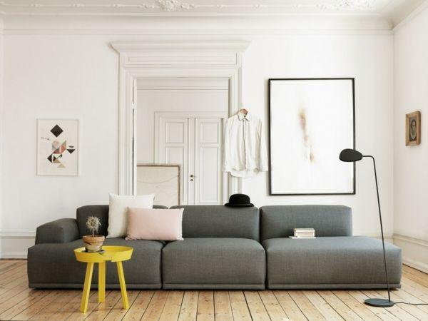 skandinavisch einrichten wohnzimmer sofa skandinavisches design ... - Skandinavisch Wohnen Wohnzimmer
