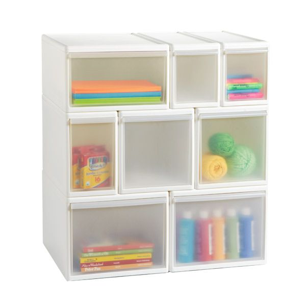 The Container Store u003e Like-it® Modular Drawers  sc 1 st  Pinterest & Like-it White Modular Drawers | Drawers Container store and Small ...