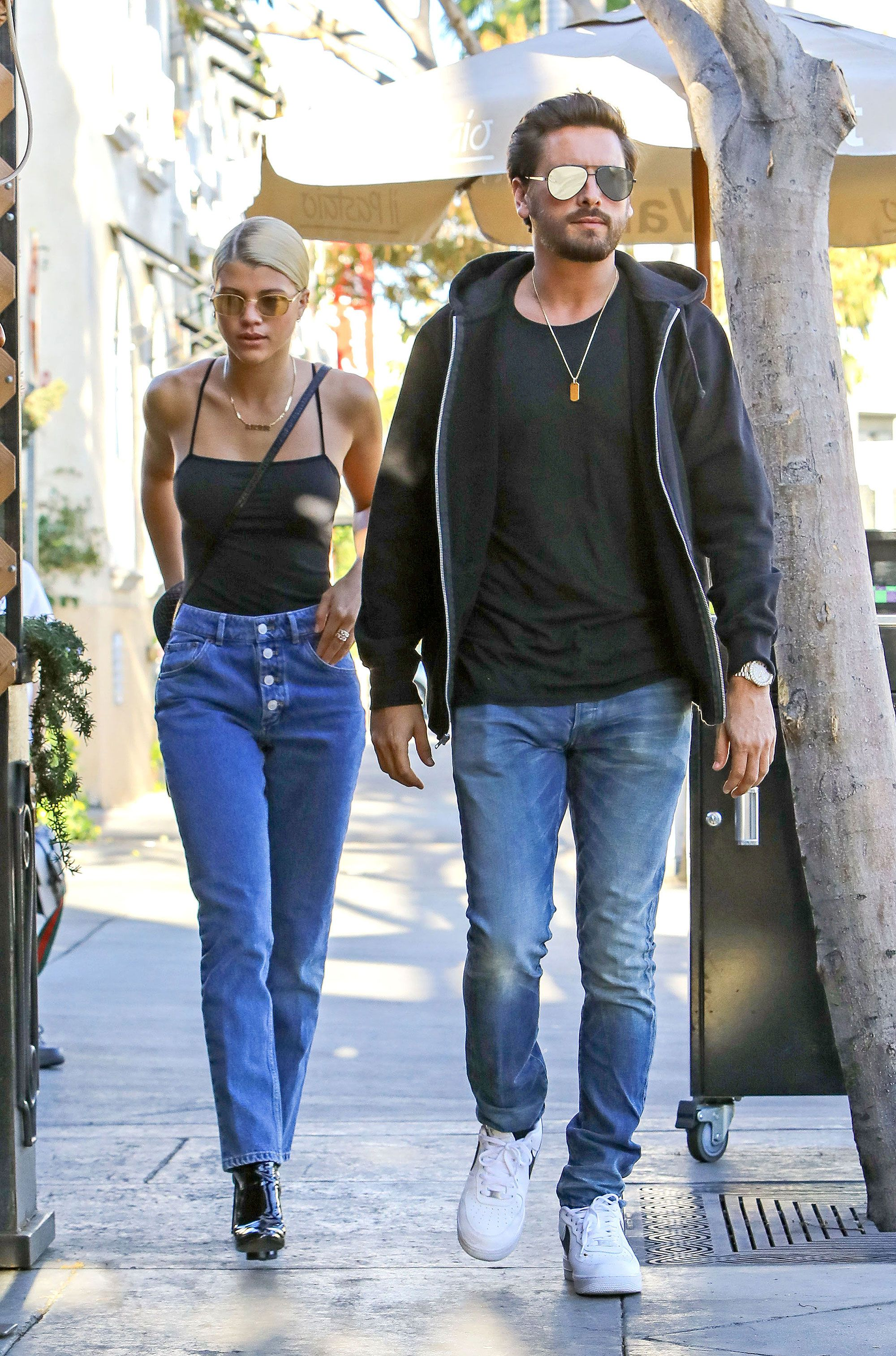 7f4800fd095e9 Scott Disick Enjoys a Romantic Lunch Date with Sofia Richie in Beverly Hills